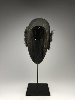 Деревянная голова-маска Малаган