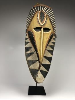 Маска духа ямса (нгвал), народ Абелам
