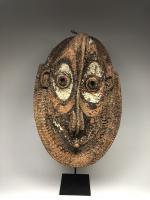 Фронтонная маска церемониального дома, регион среднего течения реки Сепик_0
