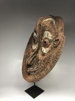 Фронтонная маска церемониального дома, регион среднего течения реки Сепик_1