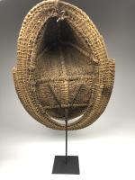 Фронтонная маска церемониального дома, регион среднего течения реки Сепик_3