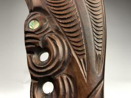 Боевая палица Пату маори_3