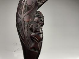 Боевая палица Пату маори_2