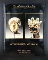 Каталог аукциона «Pierre Cornette de Saint-Cyr/commissaire – priseur/Arts primitifs - arts d'asie/Drouot Richelieu – Salle 2/Lundi 18 octobre 1999»_0