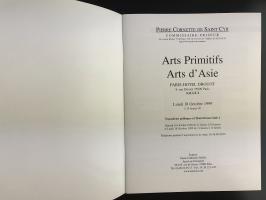 Каталог аукциона «Pierre Cornette de Saint-Cyr/commissaire – priseur/Arts primitifs - arts d'asie/Drouot Richelieu – Salle 2/Lundi 18 octobre 1999»_1