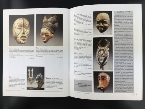 Каталог аукциона «Pierre Cornette de Saint-Cyr/commissaire – priseur/Arts primitifs - arts d'asie/Drouot Richelieu – Salle 2/Lundi 18 octobre 1999»
