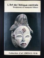 Книга «L'art de L'afrique Centrale/Sculptures et Masques Tribaux»_0