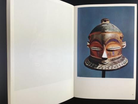 Книга «L'art de L'afrique Centrale/Sculptures et Masques Tribaux»