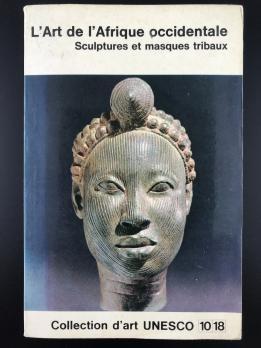 Книга «L'art De L'afrique Occidentale Sculptures Et Masques Tribaux»