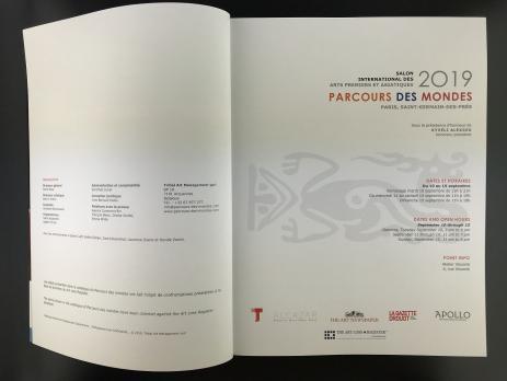 Каталог выставки «Parcours des Mondes»
