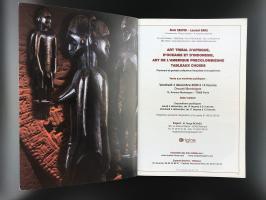 Каталог аукциона «Art tribal – Précolombien/Drouot Montaigne/ Vendredi 4 décembre 2009/Alain CASTOR - Laurent HARA»_1