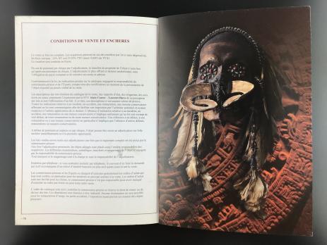 Каталог аукциона «Art tribal – Précolombien/Drouot Montaigne/ Vendredi 4 décembre 2009/Alain CASTOR - Laurent HARA»