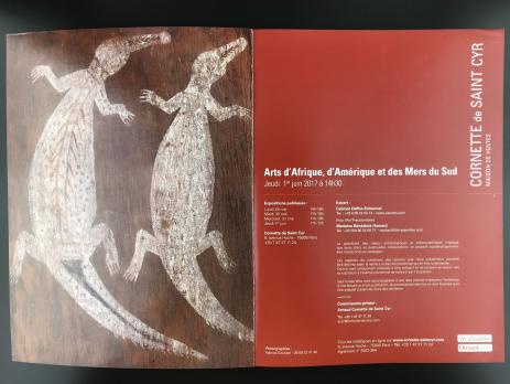 Каталог аукциона «Cornette de Saint Cyr/Art Tribal: Afrique – Asie - Amérique – Mers du Sud/1er juin 2017»