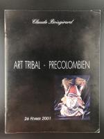 Каталог аукциона «Claude Boisgirard/Art tribal – precolombien/26 Février 2001»_0