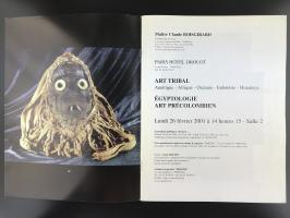 Каталог аукциона «Claude Boisgirard/Art tribal – precolombien/26 Février 2001»_1